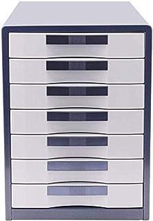 Armoires à fichiers 7 tiroirs en métal Boîte de rangement à la maison, au bureau, à la maison, au bureau, à la maison, au ...