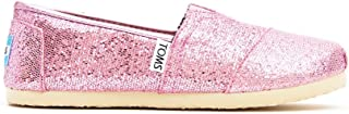 Youth Classic Glitter Shoes Pink, Size 6 M US Big Kid, EU 38