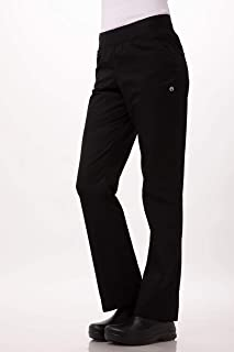 Chef Works Women's Lightweight Slim Fit Pants