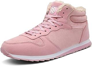 Hommes Bottes de Neige Chaussures Les Femmes Bottes d'hiver Chaudes Fourrure Sneakers Poids léger Baskets Booties Outdoors...