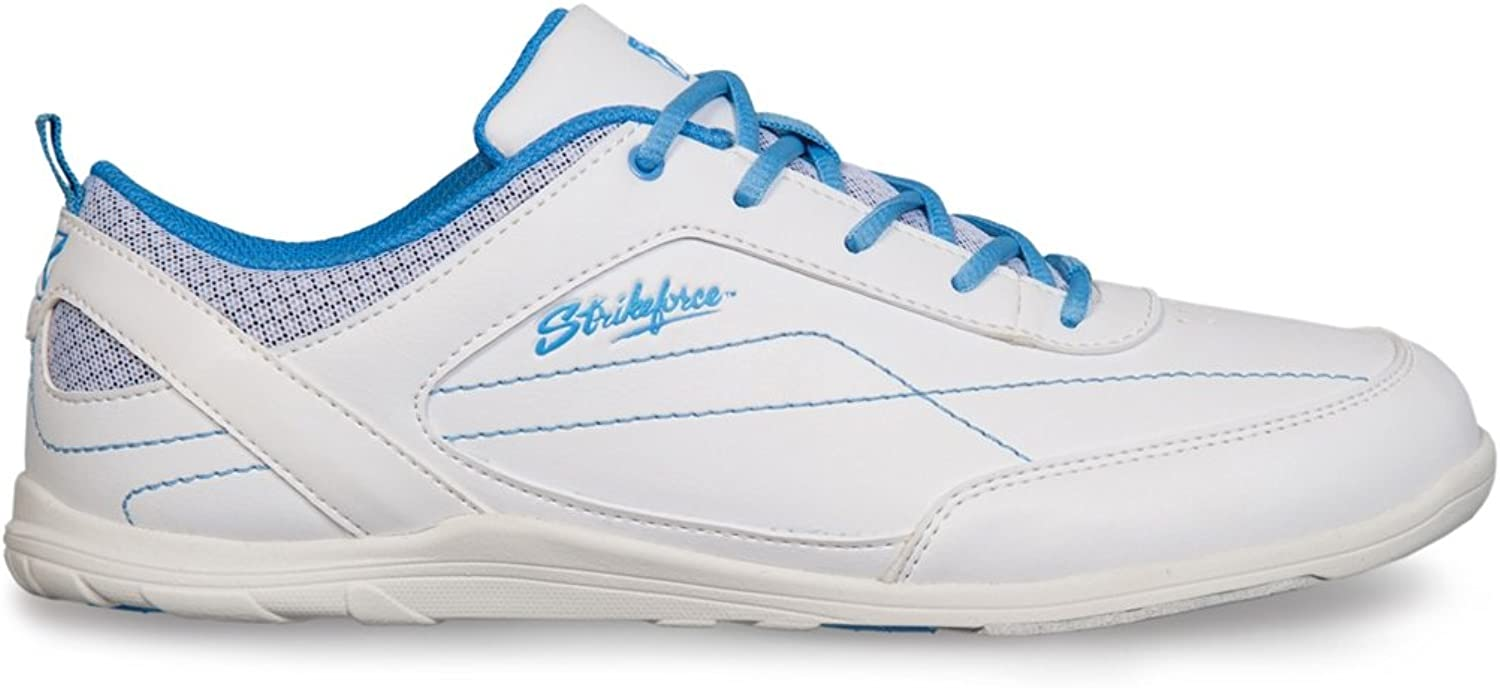 KR Strikeforce Ladies Capri Lite Bowling shoes- White bluee