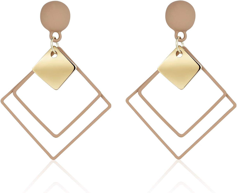 KRUCKEL Square Stud Earrings - 7069026