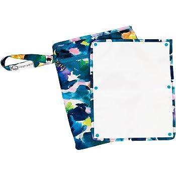 "Sarah Wells""Pumparoo"" Wet/Dry Bag with Staging Mat (Aquarelle)"