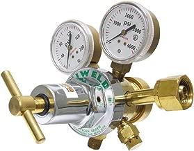 Uniweld RHT8010 Medium/Heavy Duty Two Stage Oxygen Regulator with CGA540 Inlet