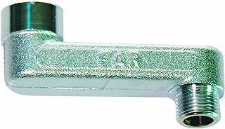 Far Racor excéntrico cromado (Far) para radiador Diam. 3/8X 3/8Int. 40
