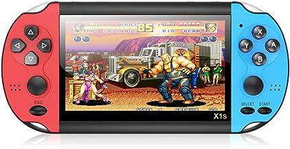Console de jogos portátil, 10.000 jogos Nostálgico clássico Dual-Shake X1s console de jogos de 11 cm, presente para crianças