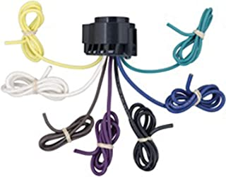 CURT 56229 Replacement USCAR Connector Wiring Harness, 24-Inch Wires, 7 Pin Trailer Wiring