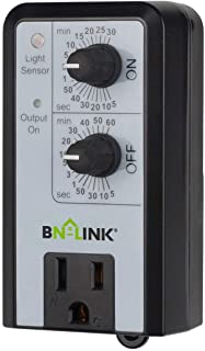 BN-LINK Short Period Repeat Cycle Intermittent Timer, Interval Timer - Day, Night, or 24 Hour Operation