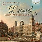 DUSSEK: Complete Piano Sonatas, Volume 1 Op.10 & Op.31/2