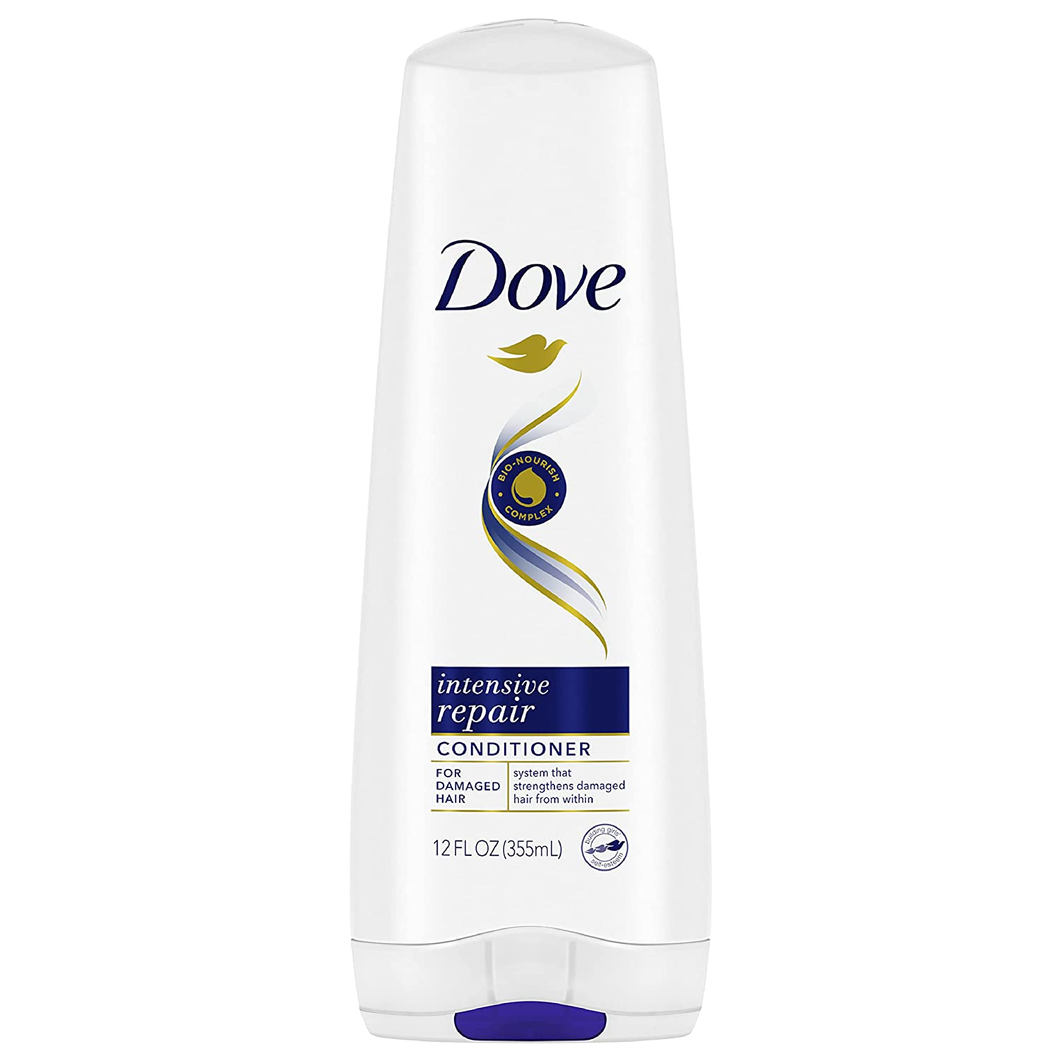 Dove Nutritive Solutions Strengthening conditioner for Damaged Hair Intensive Repair Deep Conditioner Formula with Keratin Actives 12 oz : Standard Hair Conditioners : Beauty