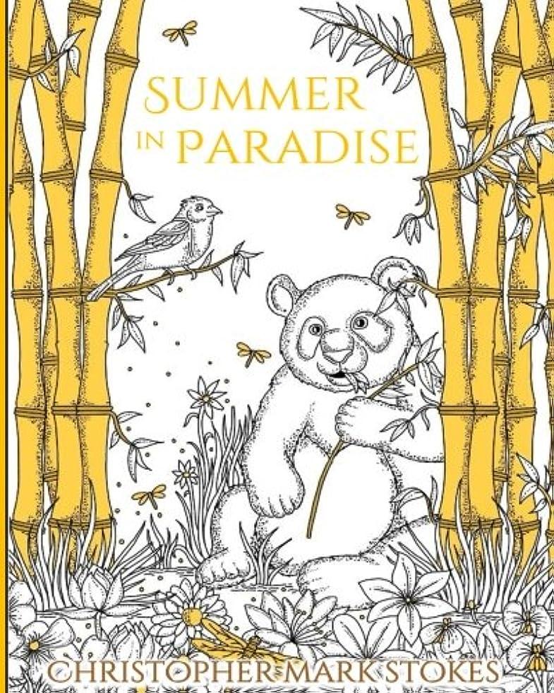 征服タイヤそうSummer in Paradise: a stress relieving adult colouring book: for mindfulness and relaxation