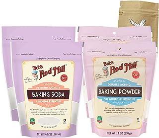 Sponsored Ad - Two (2) Bob's Red Mill Baking Soda and Two (2) Bob's Red Mill Baking Powder Bundle with One Organic, Fair T...