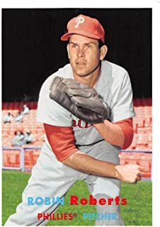 2015 Archives #62 Robin Roberts NM-MT Phillies (1957 Topps)