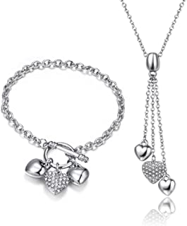 Mestige Ser for women Necklece and Bracelet, SMS057