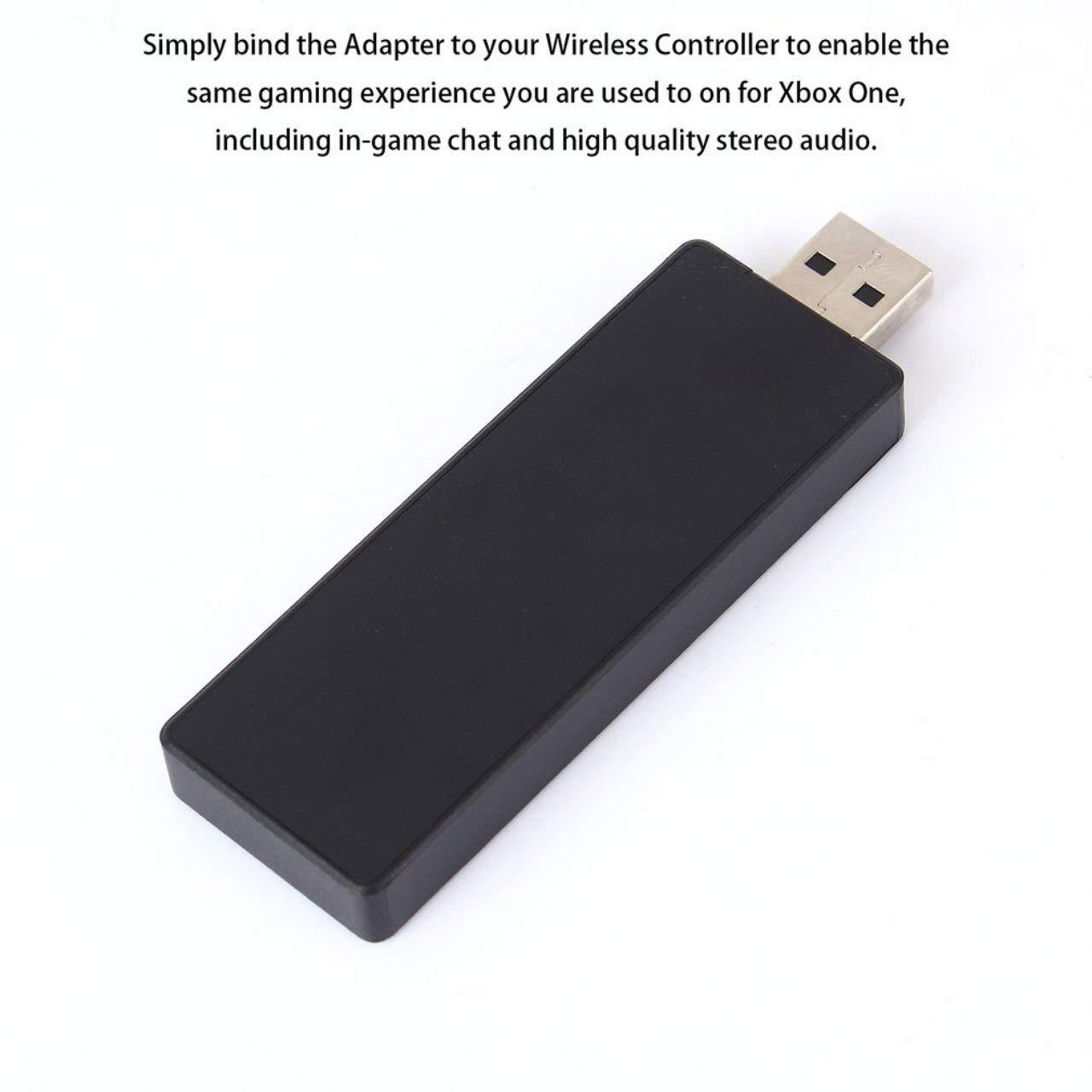 Adaptador inalámbrico Receptor de PC Adaptador de Controlador USB ...