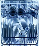 PLAGE 162003 Adesivo per lavastoviglie, X-Ray Blu, 70 x 59 cm