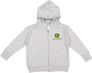 John Deere Baby Boy Logo Full Zip Hoodie