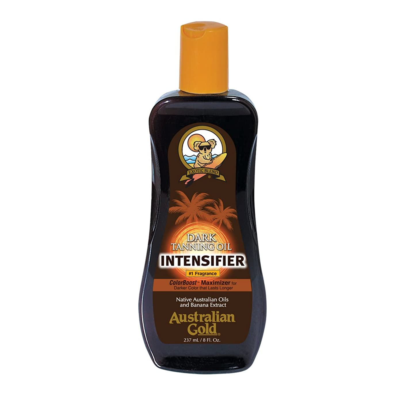 特定のフラップ炭素Australian Gold Intensifier Dark Tanning Oil 237ml [並行輸入品]
