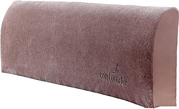Headboard Slipcover Full Bed Protector Dustproof Stretch Velvet Solid Color Cover Super Soft Comfotable Short Plush Head (...