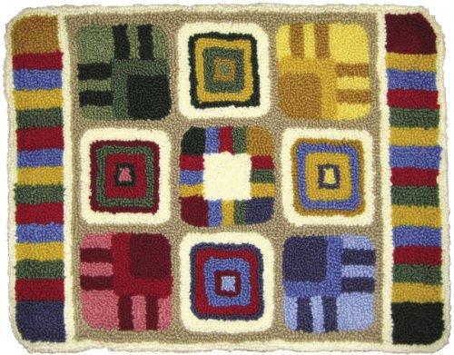 M C G Textiles jusqu'à Maintenant Kit de Tapisserie Punch Needle Motif