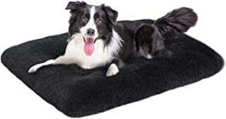Sponsored Ad - OXS Dog Bed Long Plush Calming Pet Bed, Comfortable Faux Fur Washable Crate Mat with Anti-Slip Backing for ...