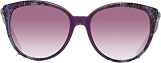 Roberto Cavalli RC986S 83Z Purple Round Sunglasses