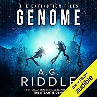 Genome     The Extinction Files, Book 2              Written by:                                                                                                                                 A. G. Riddle                               Narrated by:                                                                                                                                 Edoardo Ballerini                      Length: 13 hrs and 1 min     98 ratings     Overall 4.4