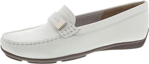 Weißs Mokassin Wirth adac5qbdn93630 Neue Schuhe schal.mili