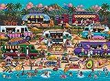 Best Puzzles - Buffalo Games - Pun Fuzzles - Hawaiian Food Review