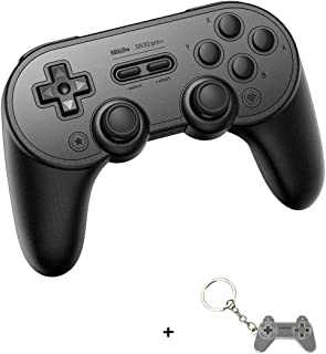 SN30Pro+ Wireless Controller for Nintendo Switch with a Keychain, Bluetooth Gamepads with Ultimate Software, Game Wireless Controller for Steam, MacOS, PC, Android & Raspberry Pi (Black Edition)