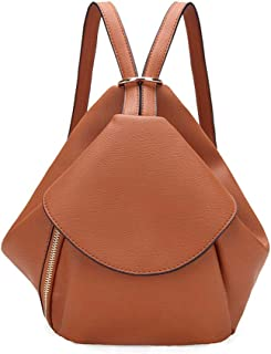 Sturdy Exquisite and Beautiful Retro Casual Fashion Shoulder One Shoulder Large Capacity Leather Handbag Large Capacity (Color : Brown)