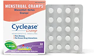 Boiron Homeopathic Medicine Cyclease Cramp Tablets for Menstrual Cramps, Homeopathic Medicine, 60-Count Box