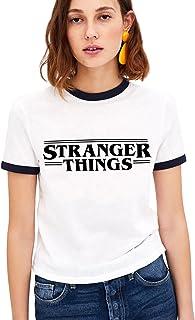 YOINS Camiseta Manga Larga Camisa Cuello V Blusa Brillante Metalico Sexy Tops Mangas Acampanadas Mujer