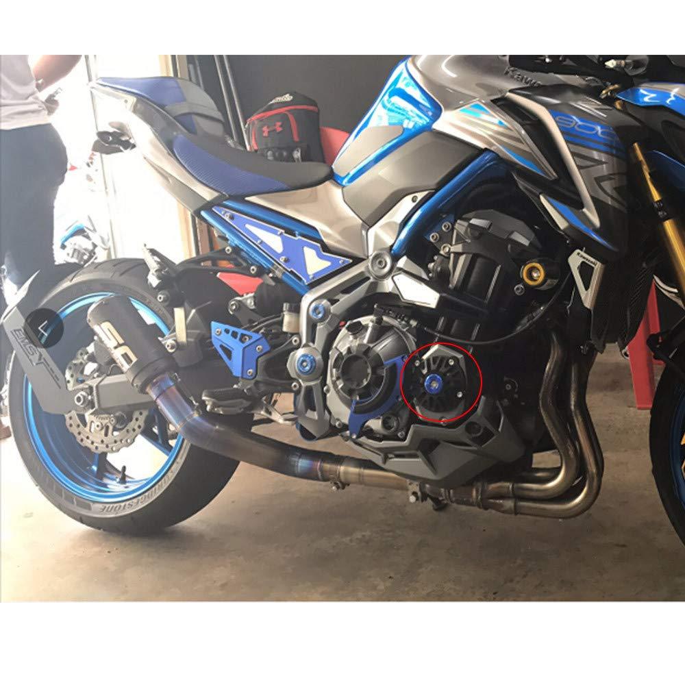 Color : Front Wheel Black Protecci/ón de la Motocicleta For Kawasaki Z 900 Z900 z900 2017 CNC Modificado Accesorios de Motocicleta ca/ída de la Bola//Amortiguador Protecci/ón Eje