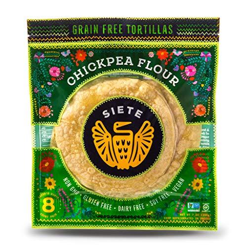 Grain Free Chickpea Flour Tortilla