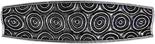 Spirals Hair Clip, Medium Hand Crafted Metal Barrette Made in the USA with a 70mm Imported French Clip by Oberon Design