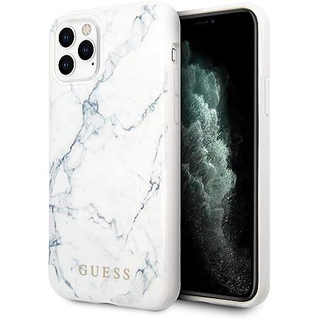 Guess Hülle Aus Der Marble Kollektion Für Das Iphone 11 Pro Weiß Elektronik