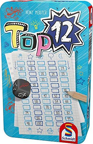 Schmidt Spiele 51295 - Top 12, Reise- und Kompaktspiel