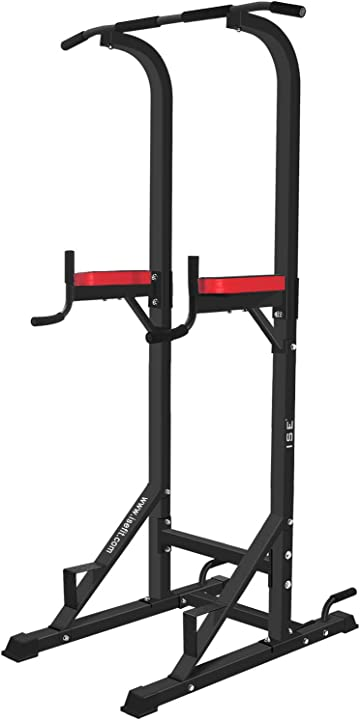 Power tower workout dip station ise 5in1 SY-5607