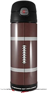 3072c885ec3 Skin Decal Wrap for Thermos Funtainer 16oz Bottle Football (BOTTLE NOT  INCLUDED) by WraptorSkinz