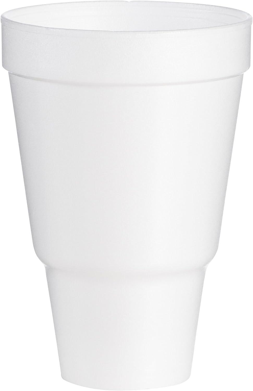 Dart 32AJ32 32 oz Pedestal Foam Cup (Case of 500)