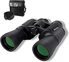 Binoculars for Adults,UncleHu 20X50 Porro Prism Compact Waterproof Binoculars with Low Light Night Vision, HD High Power Binoculars for Bird Watching, Travel, Hunting, Wildlife, Sports, Concert