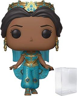 Disney: Aladdin Live Action - Princess Jasmine Funko Pop! Vinyl Figure (Includes Compatible Pop Box Protector Case)