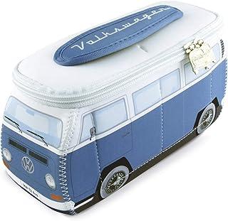 BRISA VW Collection - Volkswagen Bus T2 Camper Van Kombi 3D Neoprene Universal Bag - Makeup, Travel, Cosmetic Bag (Neopren...