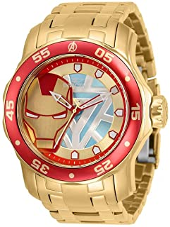 Invicta Marvel Ironman Quartz Men's Watch 32423