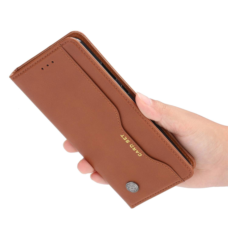 MISKQ Funda para Xiaomi Poco X3 NFC,Funda con diseño de Cartera,Estuche para el teléfono Anti caída,Estuche de Silicona(Negro): Amazon.es: Electrónica