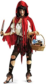 dead red riding hood costume
