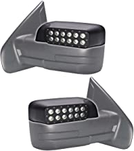 ORACLE Ford F150 Peripheral LED Off Road Mirrors / Raptor Truck LED Side Mirrors with Angled Light for Visibility (2009 - 2014 Models)