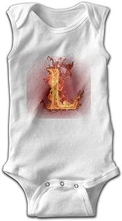Babys Fashion Comfortable Sleeveless Bodysuit Onesies Print League of Legends L Jumpsuit Outfits