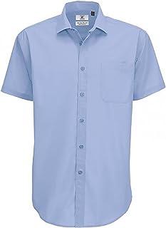 B&C Mens Smart Short Sleeve Shirt/Mens Shirts